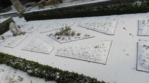 2013 HG The formal garden in winter